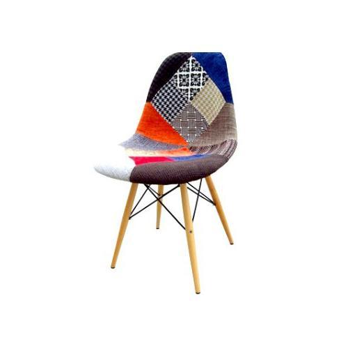 fotel KRZESŁO retro PATCHWORK DSW RAR kolorowe