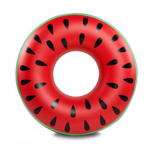 MATERAC DMUCHANY do pływania arbuz duże koło 120cm
