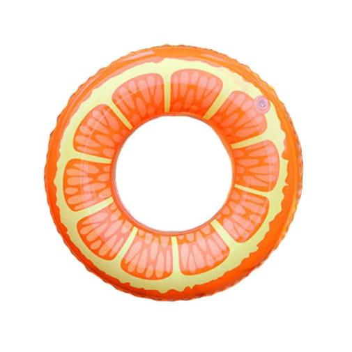 MATERAC DMUCHANY do pływania pomarańcza koło 80cm