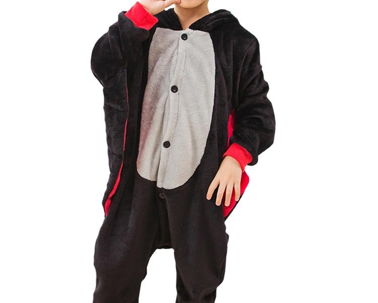 Kigurumi Onesie piżama kigu dla dzieci nietoperz