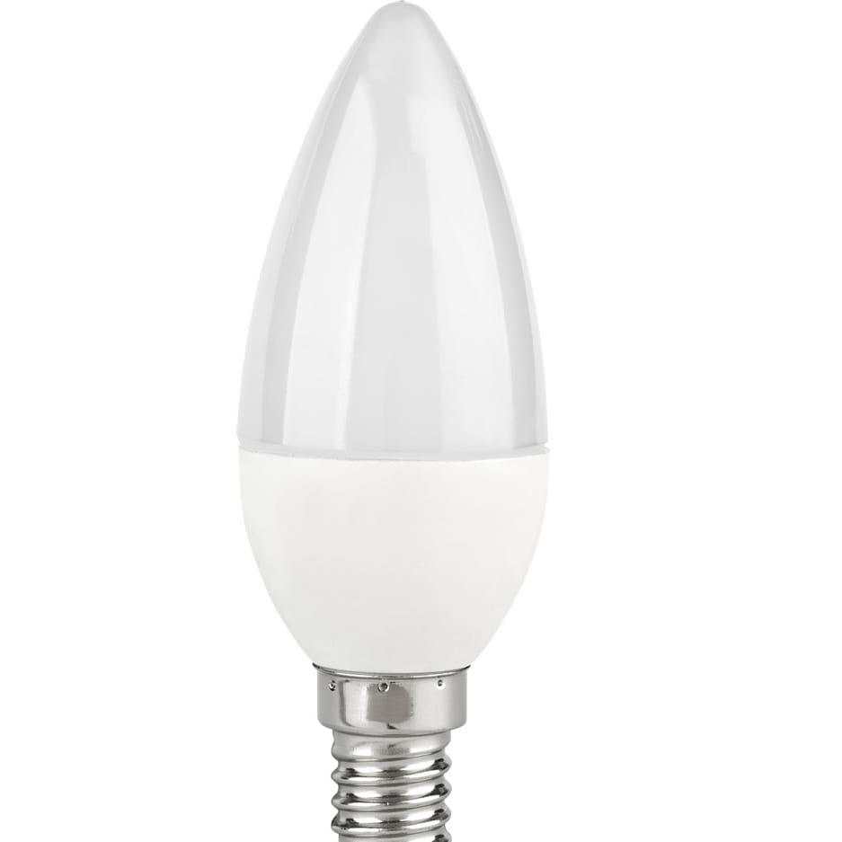 Żarówka E14 6 LED SMD 5730 3W 330lm = 35w świeczka