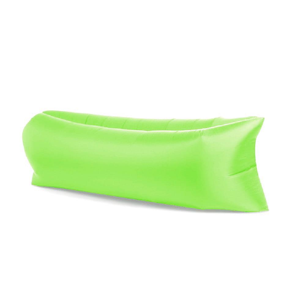 Lazy bag XXL ZIELONY air sofa materac leżak na powietrze