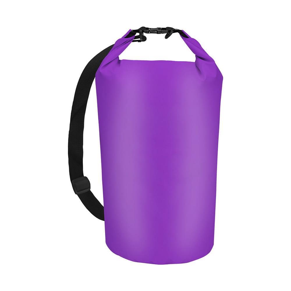 Worek torba wodoodporna wodoszczelna 30 L FIOLETOWY