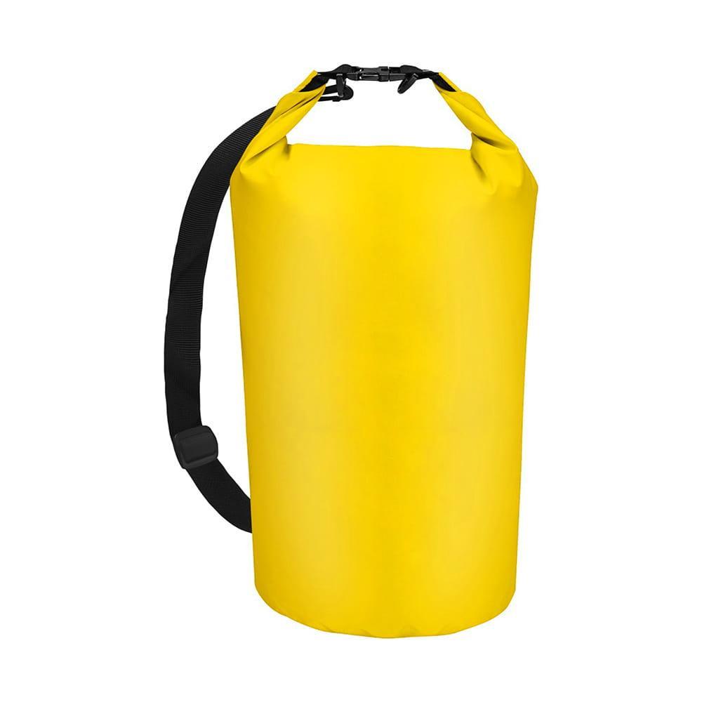 Worek torba wodoodporna wodoszczelna 10 L ŻÓŁTY