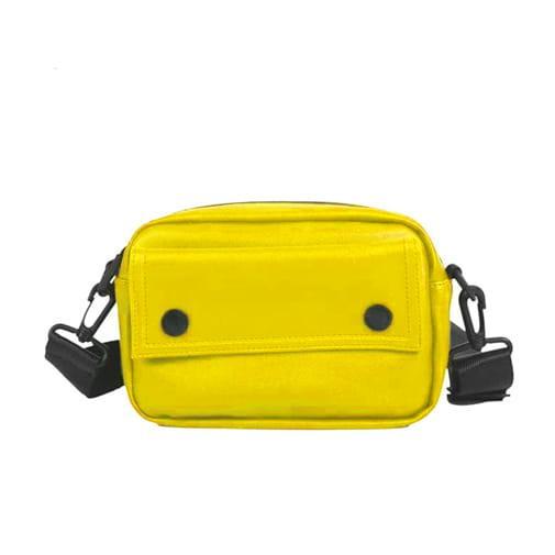 torebka saszetka nerka na biodra ramię żółta