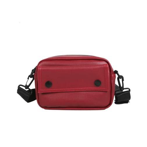 torebka saszetka nerka na biodra ramię czerwona