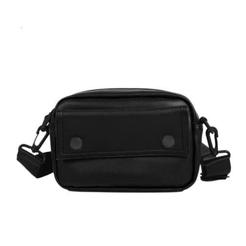 torebka saszetka nerka na biodra ramię czarna
