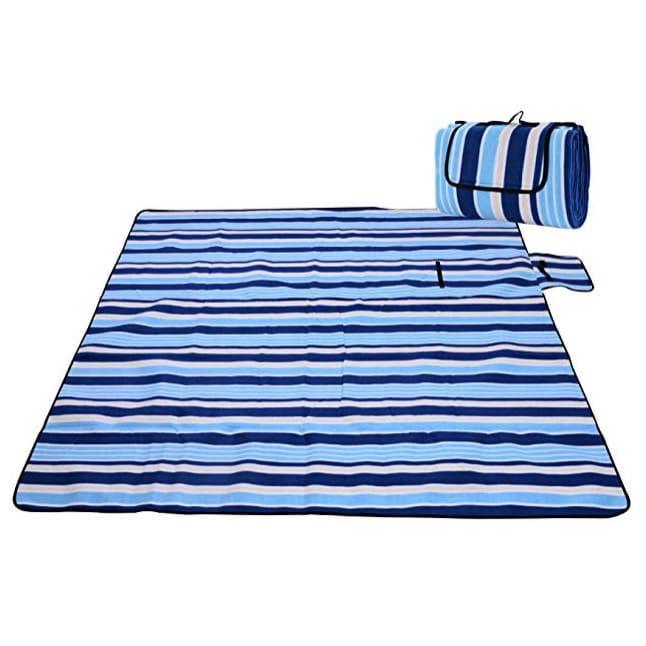 Koc piknikowy plażowy z izolacją 200x200 - Wzór 1