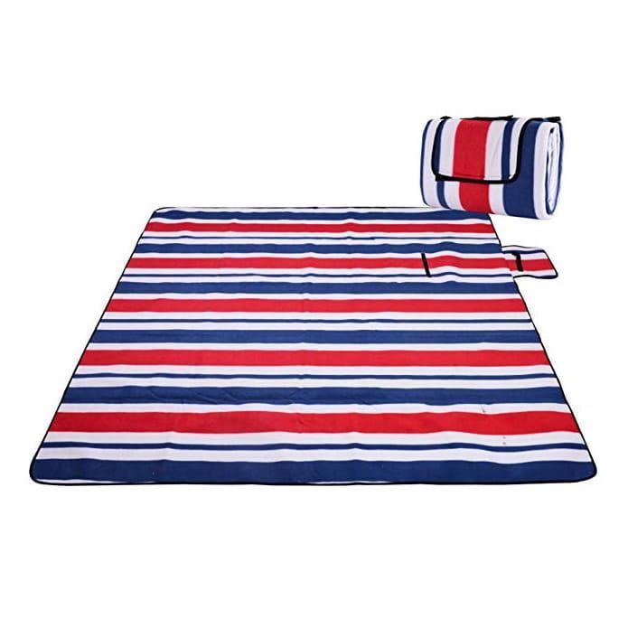 Koc piknikowy plażowy z izolacją 200x200 - Wzór 2