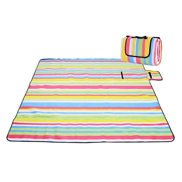 Koc piknikowy plażowy z izolacją 200x200 - Wzór 3