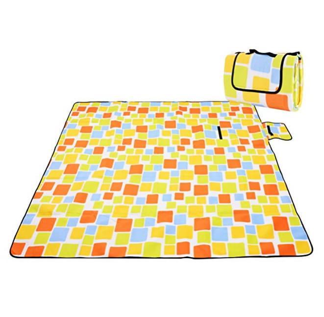 Koc piknikowy plażowy z izolacją 200x150 - Wzór 5