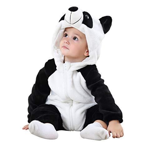 PIŻAMA onesie kigurumi dla dzieci PANDA