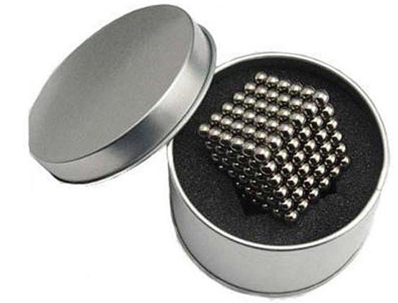 Neocube - magnetyczne kulki 216 szt. 5mm SREBRNE