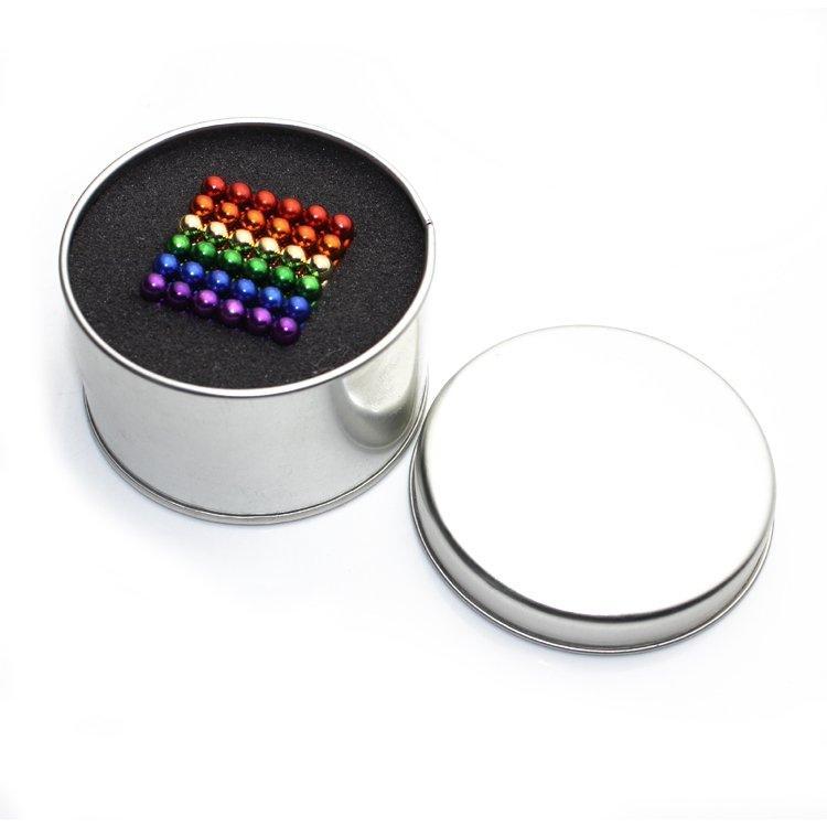 Neocube - magnetyczne kulki 216 szt. 5mm sixcolor