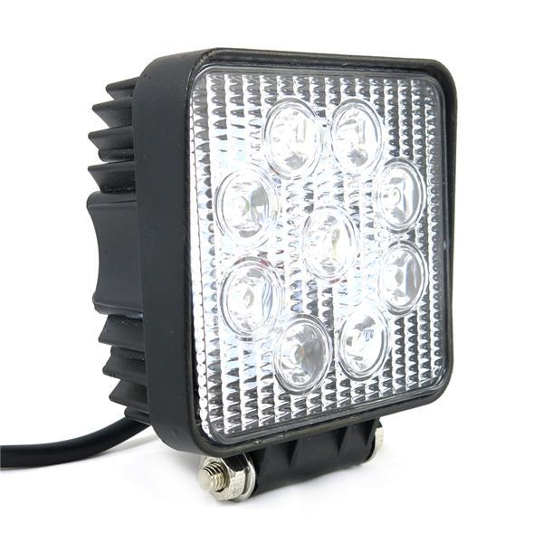Lampa 9 LED - halogen roboczy