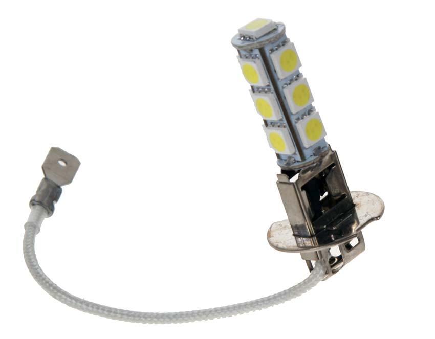 Żarówka LED h3 halogen światła dzienne xenon look