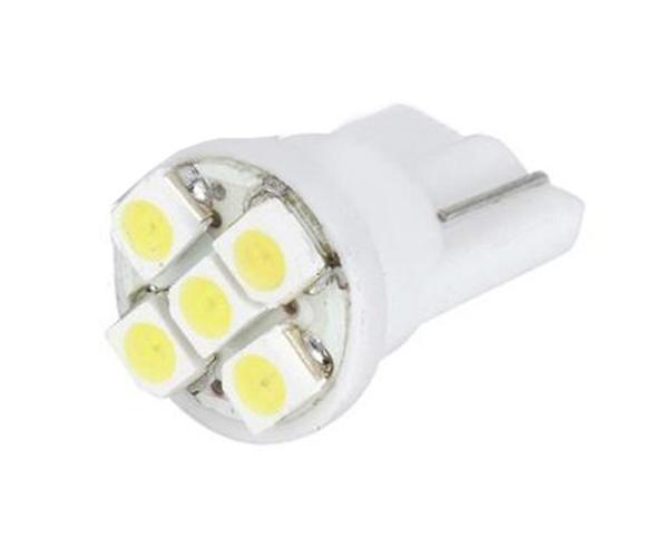 Żarówka LED #lb02 t10-1210-5 - różne barwy światła