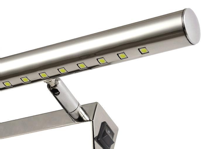 Kinkiet LED 40 cm 5W z włącznikiem