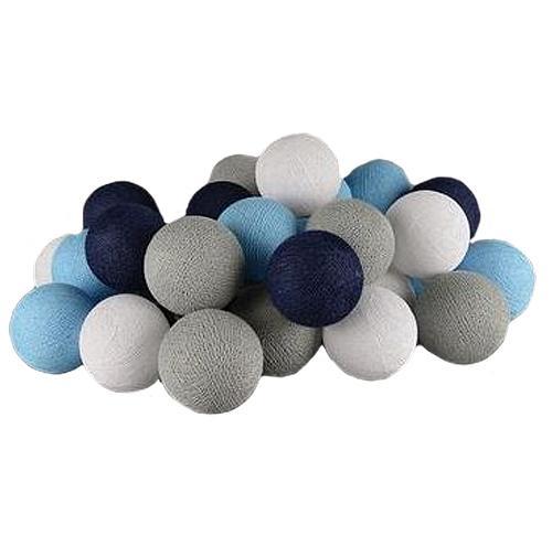 Cotton balls dekoracyjne kule lampki LED 35 kul dekoracyjne wewnętrzne